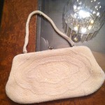 One of Nana's elegant date night clutches Aster adores playing with during dress up time.